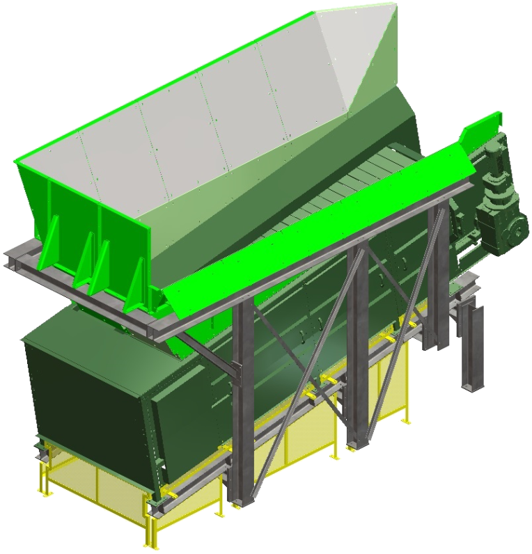 Metal deck conveyor_CAO