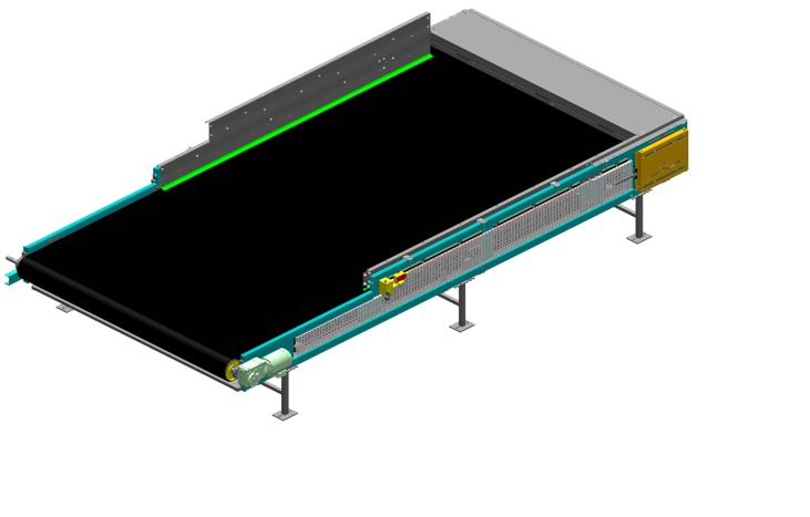Belt conveyor / Flow accelerator _CAO