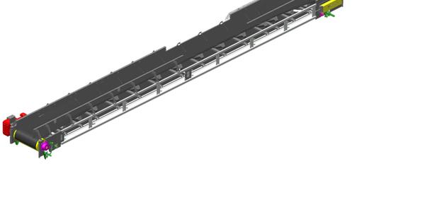Convoyeur TBU à usage industriel_CAO